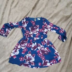 Girls fall dress (size 8)